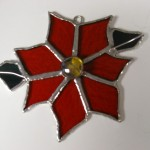 Poinsettia Suncatcher/Ornament