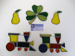 Trains, Pears and Shamrock