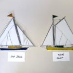 Sailboat - Skip Jack and Maine Sloop Suncatcher