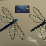 Dragonfly Blue Suncatcher
