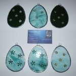 Decorated Easter Eggs $10.00 Green