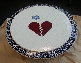 Caring Place Mosaic Table